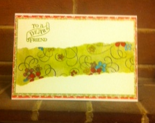 Card for friend 2