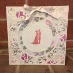 Karen wedding card