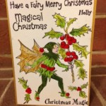 holly fairy card