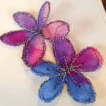 Embroidery Guild flowers