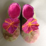 embroidery guild felt slippers